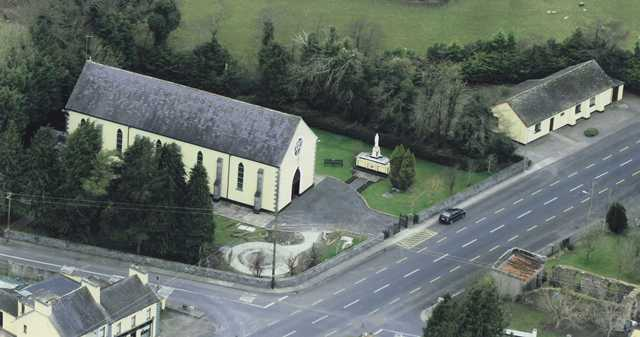 Church from the Air