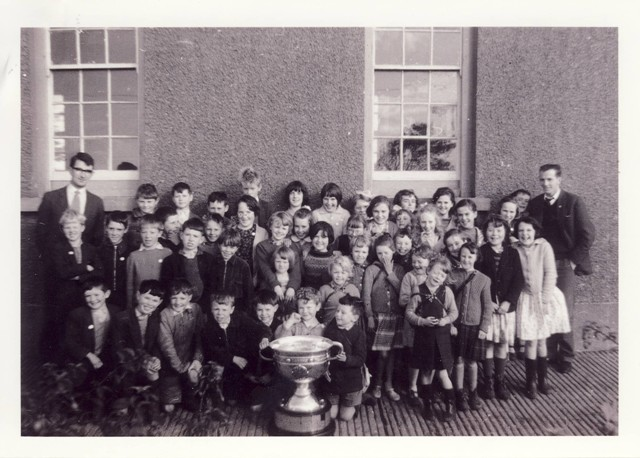 1964 John Donnellan with Sam Maguire cup
